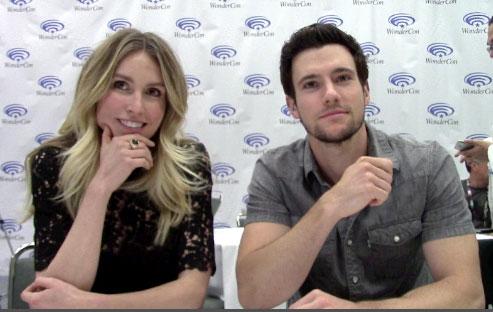 Drew Roy and Sarah Carter Falling Skies Season 5 Interview