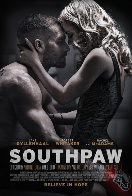 Southpaw New Trailer and Poster with Jake Gyllenhaal