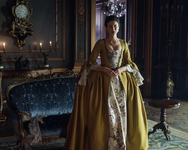 Caitriona Balfe Interview: Outlander Season 2
