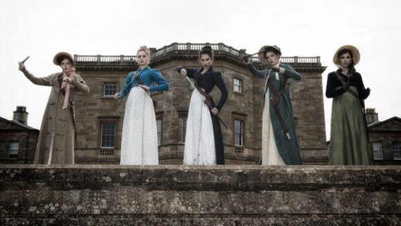 Ellie Bamber Bella Heathcote Lily James Pride and Prejudice and Zombies