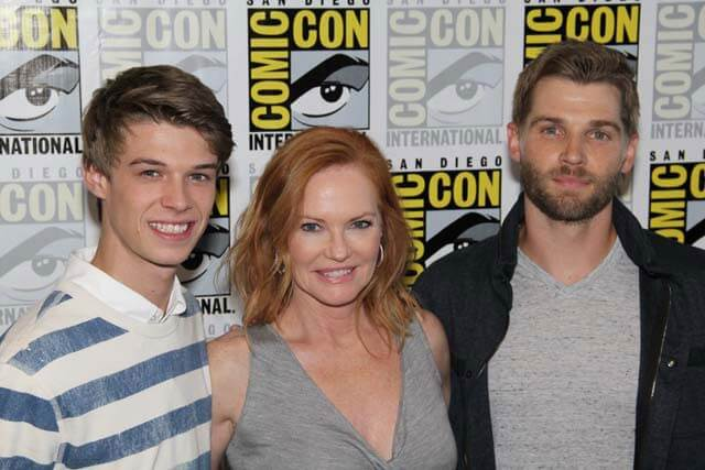 Under the Dome Mike Vogel, Colin Ford, Marg Helgenberger Interview