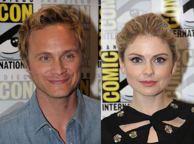David Anders and Rose McIver from 'iZombie' at the 2015 San Diego Comic Con (Photo by Richard Chavez / Showbiz Junkies)