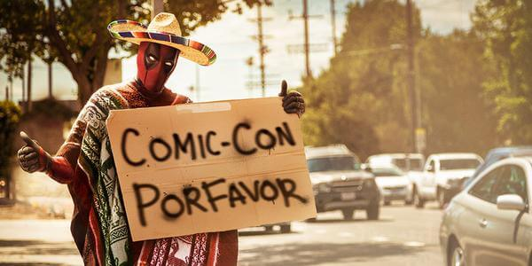 Deadpool Cast Tweets About Comic Con