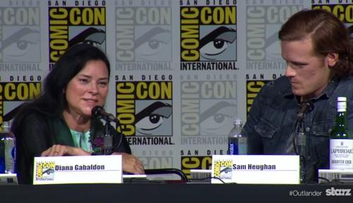 Diana Gabaldon Interview Outlander Season Two