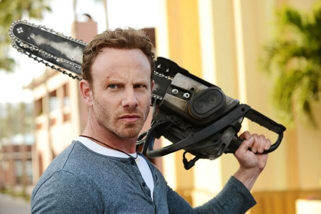 Ian Ziering Interview on Sharknado 3: Oh Hell No!