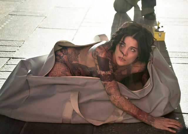 Jaimie Alexander Naked in Bag Blindspot Photo
