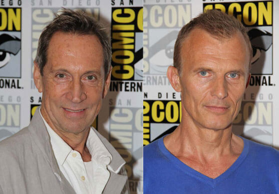 Jonathan Hyde and Richard Sammel The Strain Season 2 Interviews
