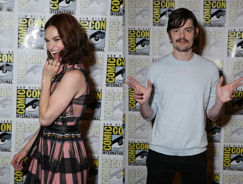 Lily James and Sam Riley Pride, Prejudice and Zombies Interview