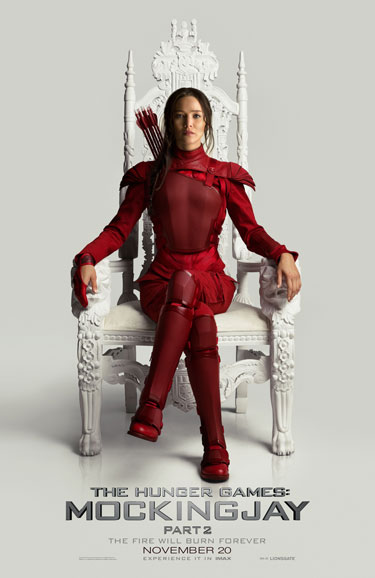 The Hunger Games Mockingjay Part 2 Motion Poster