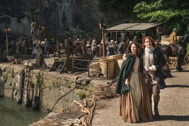 Sam Heughan Interview - Outlander Season 2