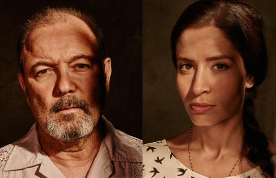 Fear the Walking Dead Ruben Blades and Mercedes Mason Interview