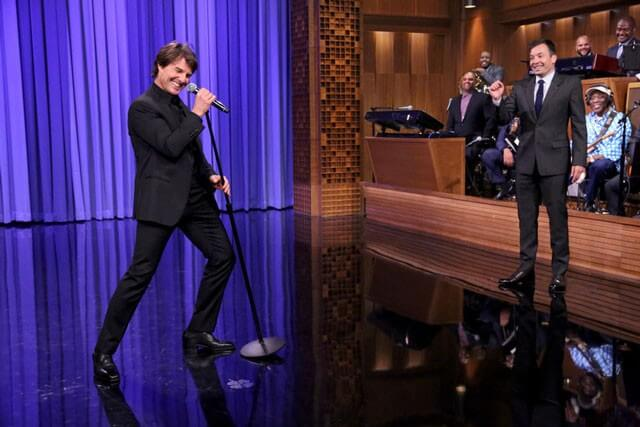 Tom Cruise and Jimmy Fallon Lip Sync Battle