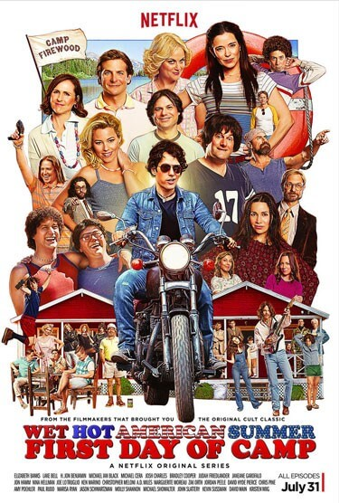 Wet Hot American Summer Trailer and Poster