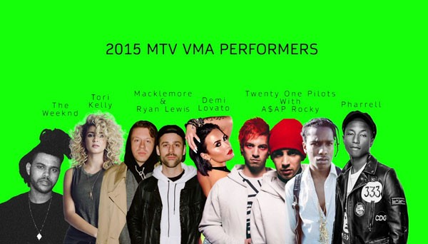 Pharrell, Demi Lovato Among VMA Performers