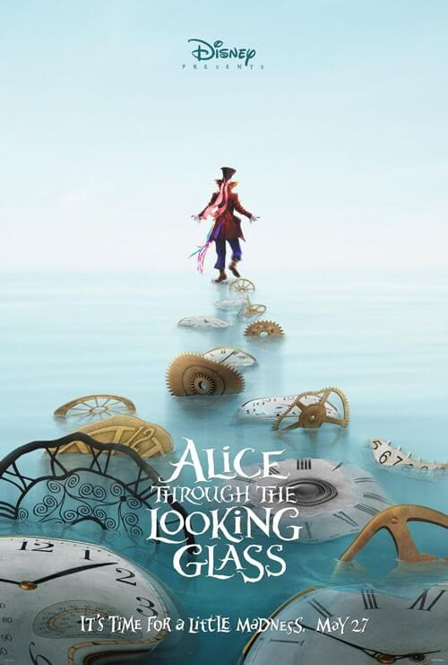 Alice Through the Looking Glass New Posters
