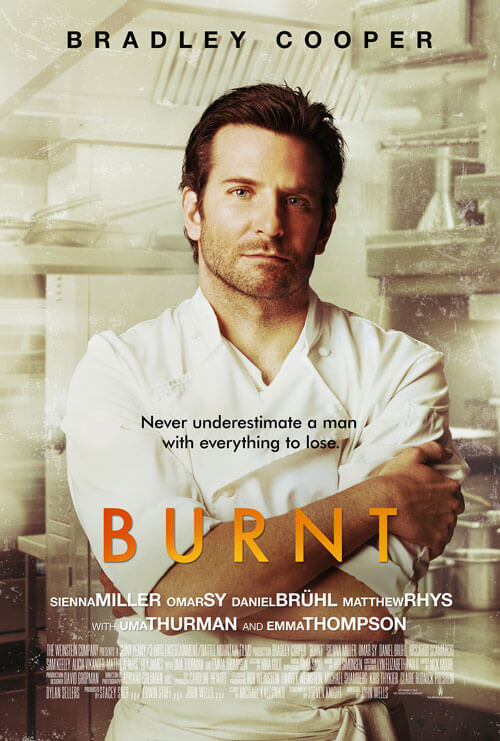 First Poster for 'Burnt' with Bradley Cooper