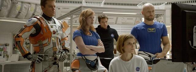 The Martian Movie Cast Photo