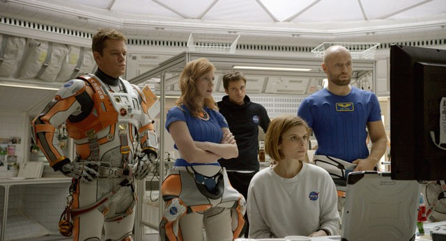 The Martian Movie Cast Photo