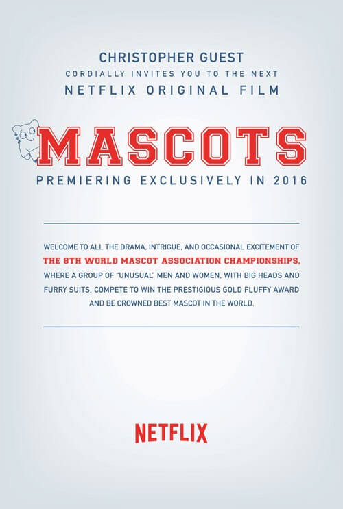Netflix Cheers About Christopher Guest's Mascots