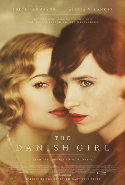 The Danish Girl Poster with Eddie Redmayne