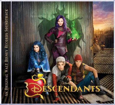 Disney's Descendants Soundtrack Debuts at #1