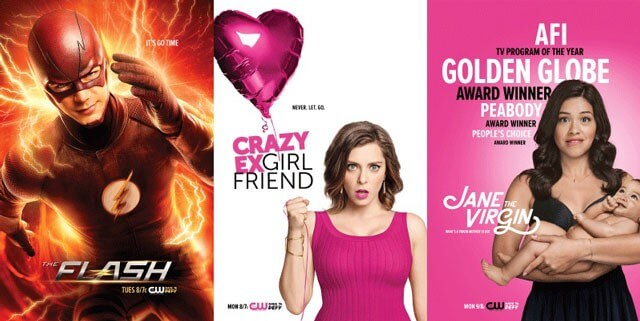 The Flash, Crazy Ex Girlfriend, Jane the Virgin Posters