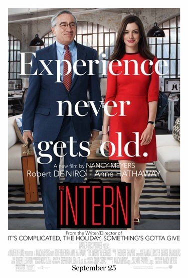 The Intern Poster with Anne Hathaway and Robert De Niro