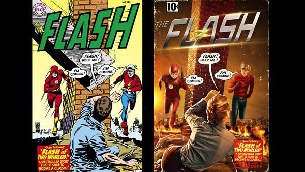 First Photo: Teddy Sears as Jay Garrick on The Flash
