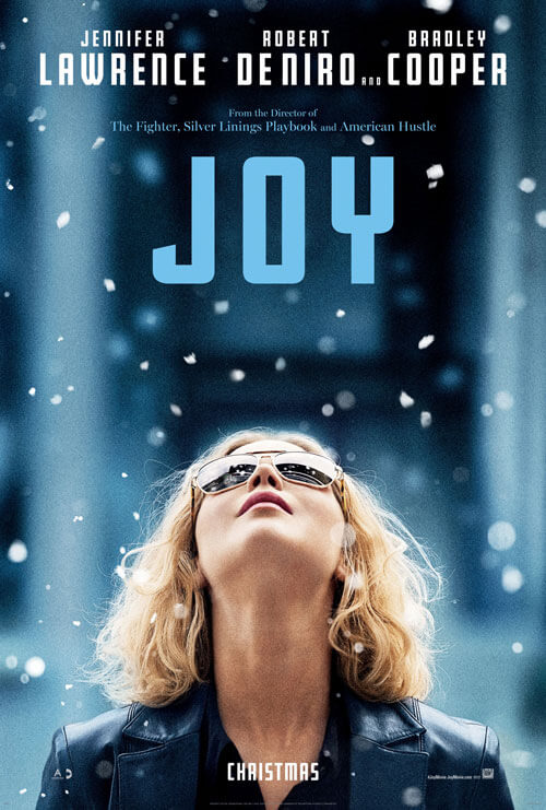 Joy Movie Poster with Jennifer Lawrence