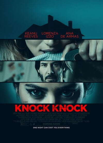 Knock Knock Movie Trailer with Keanu Reeves