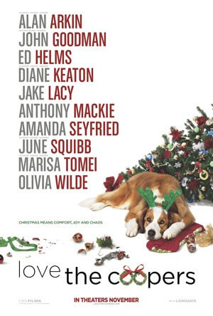 Love the Coopers Movie Poster and Trailer