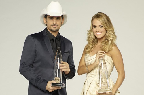 Brad Paisley and Carrie Underwood Host CMA Awards