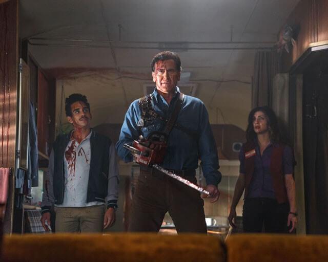 Ash vs Evil Dead Cast Photo