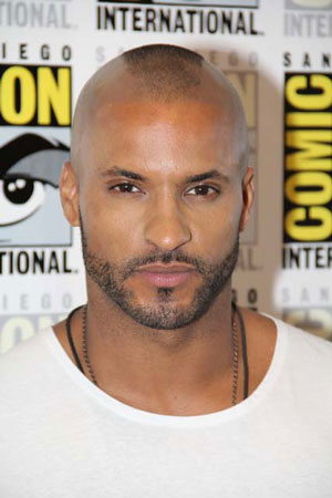 Ricky Whittle at 2015 Comic Con