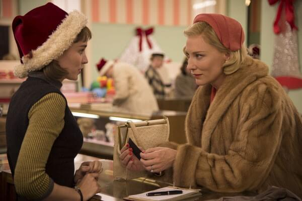 Cate Blanchett in a scene from Carol