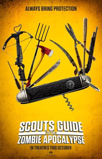 Scouts Guide to the Zombie Apocalypse Restricted Trailer