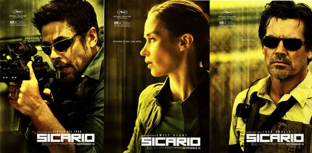 Sicario Trailer and Posters