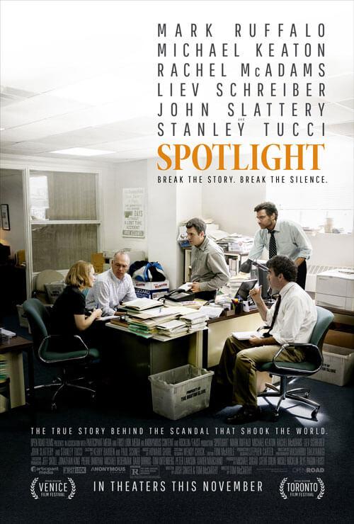 Spotlight Debuts a New Poster