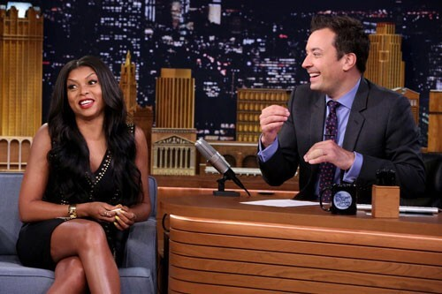 Taraji P Henson and Jimmy Fallon Play Fast Family Feud