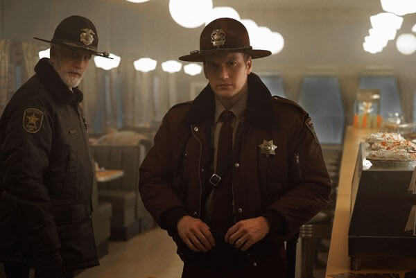 Fargo Season 2 Patrick Wilson and Ted Danson Photo