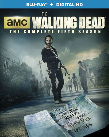 The Walking Dead: The Complete Fifth Season Blu-Ray