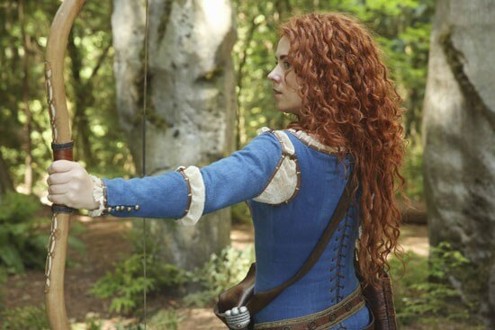 Amy Manson, Merida in Once Upon a Time Photo
