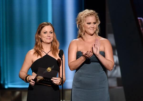 Amy Poehler and Amy Schumer Emmys Photo