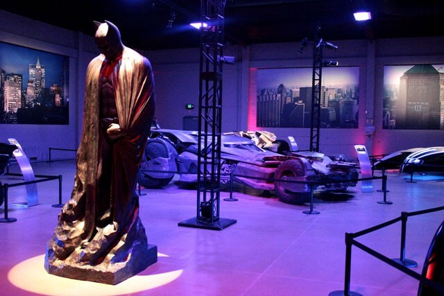 Batman v Superman Costumes and Batmobile