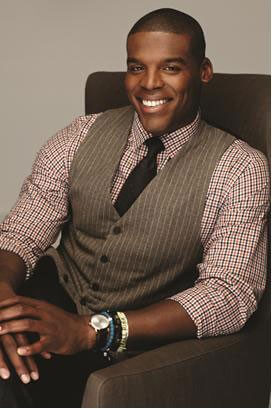 Cam Newton Smiling Photo