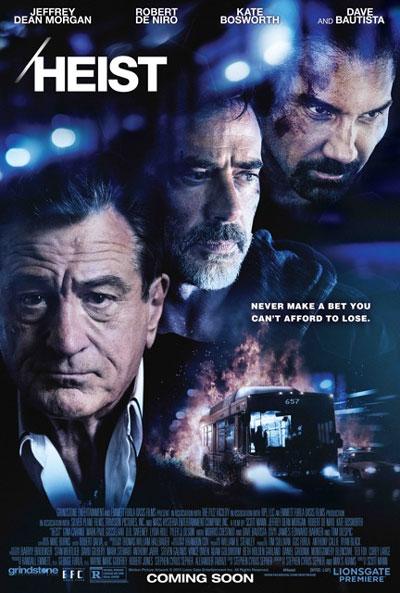 Heist Movie Poster