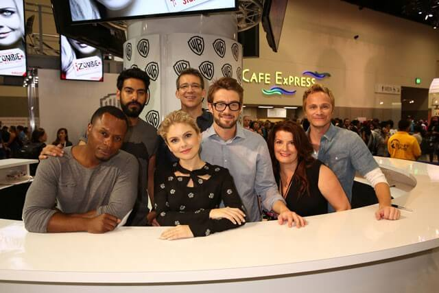iZombie Season 2 Cast and Crew Photo