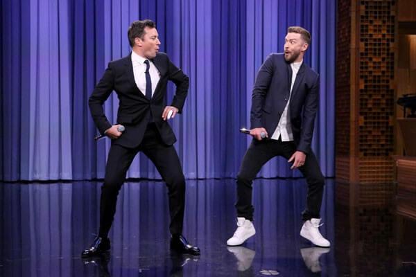 Justin Timberlake and Jimmy Fallon Photo