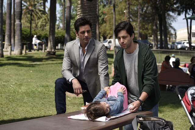 John Stamos, Josh Peck in Grandfathered
