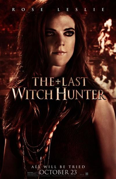Last Witch Hunter Rose Leslie Poster